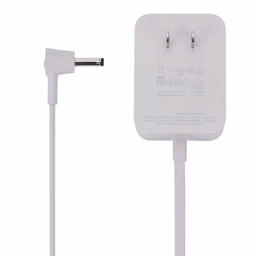 High Quality DC Output: 16.5V 2A 33W W033R004H Power Adapter Adapter Part Numbers:  W033R004H W16 033N1A Adapter Fit Models: 6.2*4.7*3.15cm. Google Home