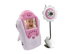 baby monitor brand new 2 4ghz wireless camera lcd baby monitor voice control battery stores. Black Bedroom Furniture Sets. Home Design Ideas