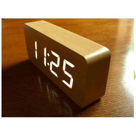 alarm clock LED-Maple