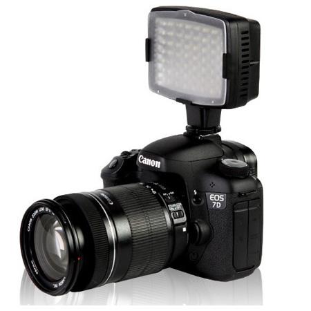 CN-LUX560 5400K 56LED Video Light Lamp For Camera DV Camcorder Lighting