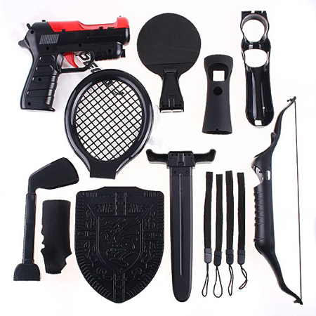 15 in 1 Sport Pack For PS3 Move Motion Control Game