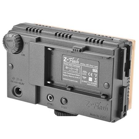 FREE BATTERY F&V HDV-Z96 96 Z-flash DSLR On-Camera Dimmable LED Video Light Kit
