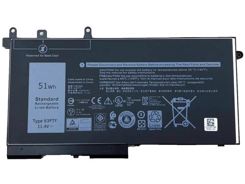 Batterier Bærbare computere D4CMT