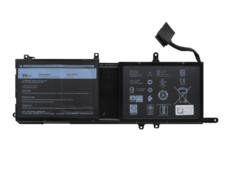 Dell 9NJM1 battery