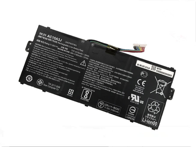 Batteri til tablet AC15A3J