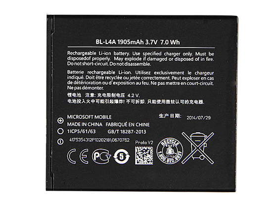 nokia battery BL-L4A
