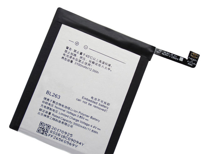 Lenovo BL263 battery