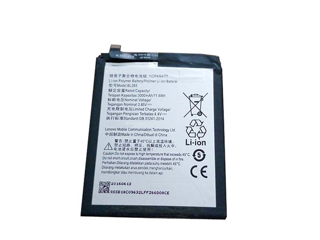 motorola battery BL265