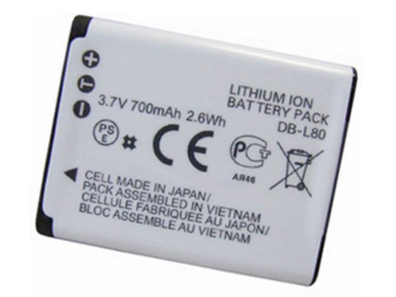 sanyo battery DB-L80