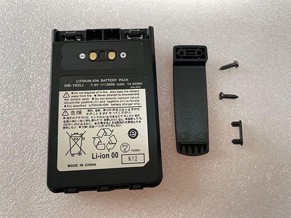 Batterier FNB-102LI