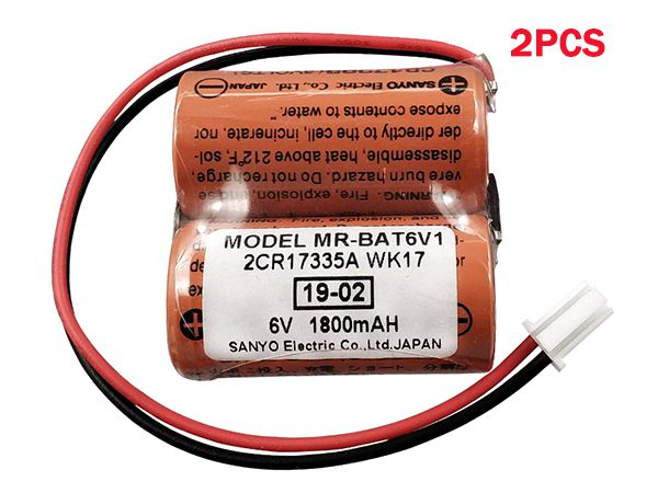 mitsubishi MR-BAT6V1(2pcs)