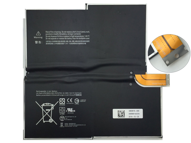 Microsoft 1577-9700 battery