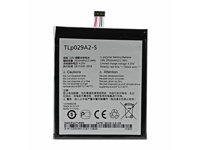 alcatel battery TLP029A2-S