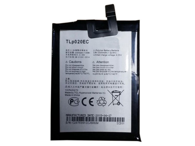 mobilbatteri TLP020EC
