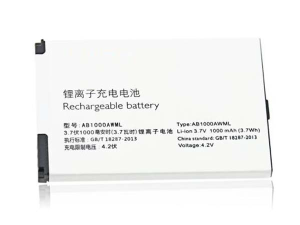 philips battery AB1000AWML