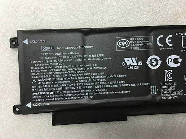 HP DN04XL battery
