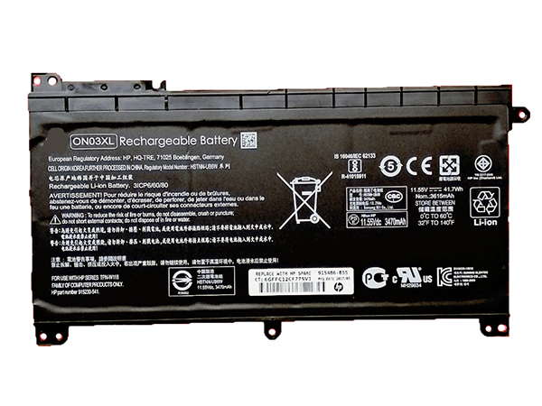 HP ON03XL battery