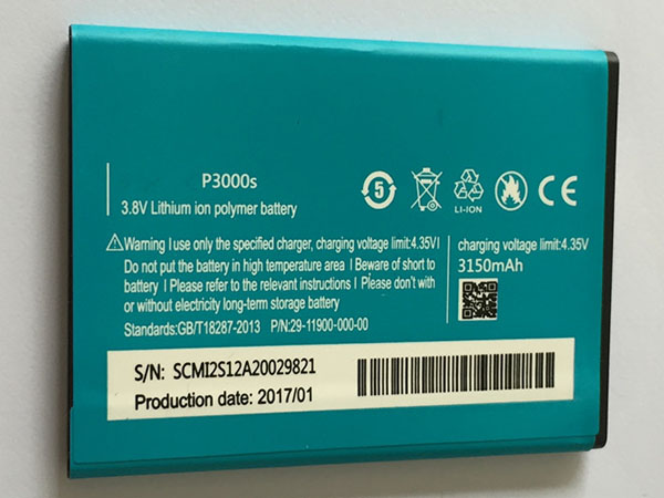 elephone battery P3000S