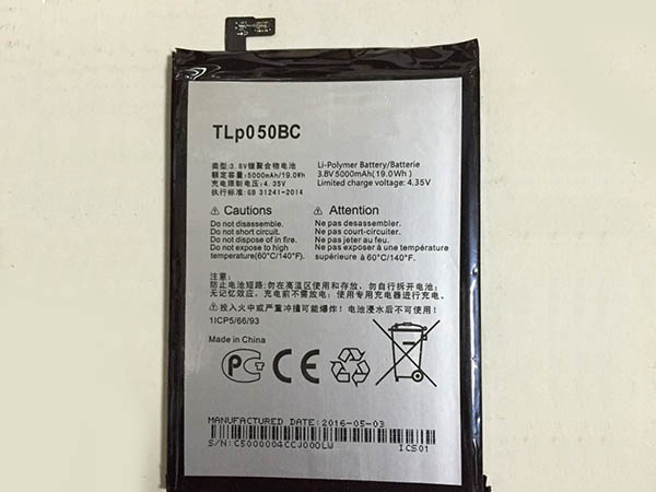 Alcatel TLp050BC battery